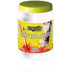 Nutrixxion Whey Isolate 100 Boisson 450g, Banana/Strawberry